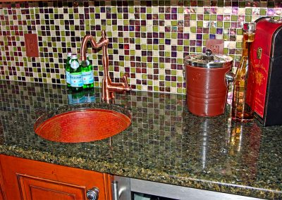 SEVERNA PARK MARYLAND GRANITE BAR TOP